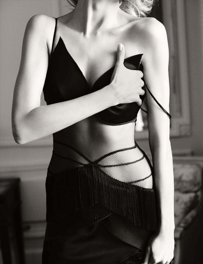 Anja Rubik for Vogue Germany March 2014